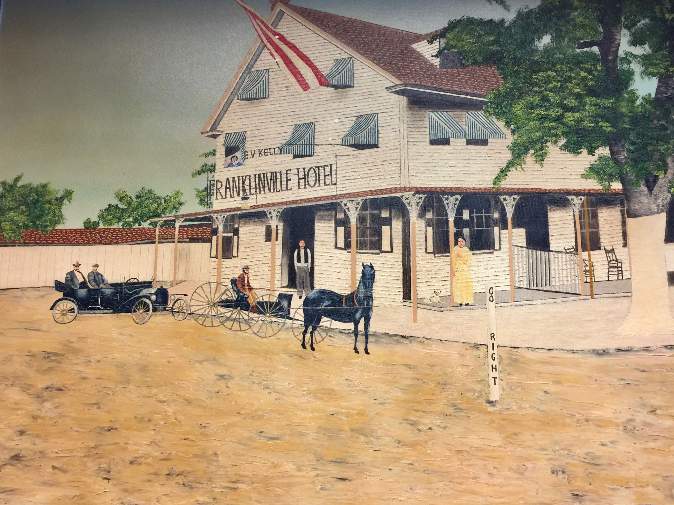 Franklinville Inn Painting